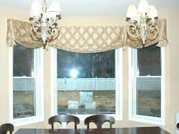 inspiring kitchen window valances pattern wonderful of for bay with valance ideas 2 simple regard to