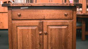 Amish Kitchen Furniture Barn Furniture Amish Kitchen Islands Youtube
