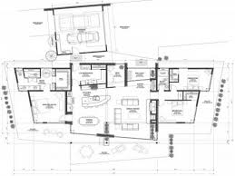 Waterfront Home Plan Lower Level Floor  082S0001  House Plans Luxury Mountain Home Floor Plans