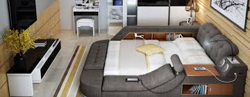 all in one furniture. You\u0027ll Never Want To Leave This All-in-One Bed Full Of Gadgets \u0026 Storage All In One Furniture