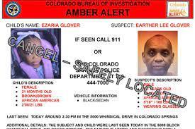 Amber Alert canceled after 21-month-old ...