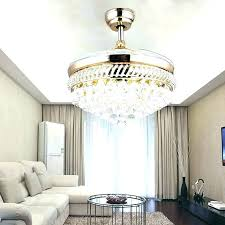 chandelier fans chandelier fans ceiling fan combo crystal with lights steel