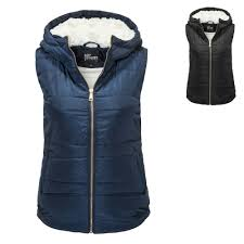 Hailys Women's Quilted Waistcoat With Hood Lightweight Jacket, 19,99 &  Adamdwight.com