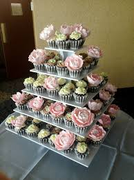 Peony Wedding Cupcakes Clockwork Lemon