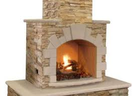 cal flame 78 in brown natural stone propane gas outdoor fireplace frp908 3 apf the home