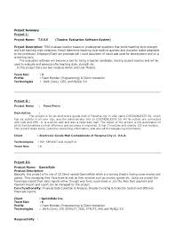 Java Resume Example Experienced Software Engineer Resume Java ...