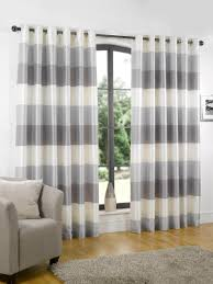 Blackout Curtains With Horizontal Striped Curtains