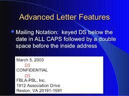 Formatting Business Letter Formatting Business Letter Block Letter