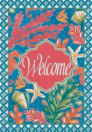 garden house flags. Custom Decor Flag - Tropical Welcome Decorative At Garden House Flags