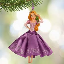 Disney Tangled Rapunzel Pascal Sketchbook Ornament (as of