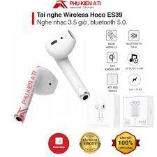Tai nghe Bluetooth Hoco ES39 V5.0- Âm Thanh Hay- Hỗ Trợ Pop-up - Định Vị -  Đổi Tên- Dùng được cho cả iPhone và Android tốt giá rẻ
