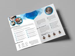 Free Two Fold Brochure Template Dual Fold Brochure Template Two Fold Brochure Template Two Fold