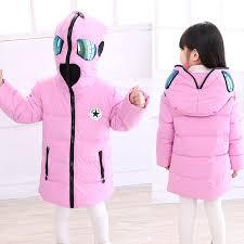 Winter <b>Boy Girls Down</b> Jacket Outerwear Children <b>Brand</b> Zipper up ...