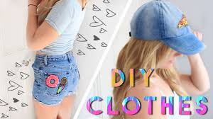 Upcycling Clothes Diy Clothes For Summer 2016 Upcycle Your Clothes Youtube