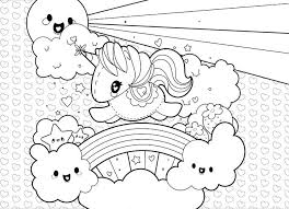 Unicorn Coloring Pages For Kid Sheets Toddlers Kindergarten Cute