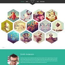 psd portfolio and resume website templates colorlib hexal psd portfolio template