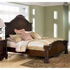 north s sleigh bedroom set ideal 47 ashley furniture king sleigh bed home and garden site