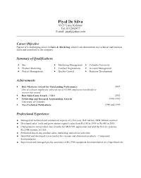 General Resume Form General Cv Format 7