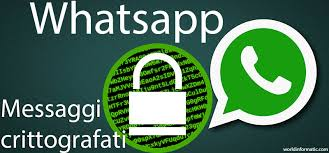 Risultati immagini per crittografia end to end whatsapp