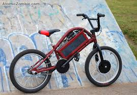atomiczombie the estyle electric freestyle bmx
