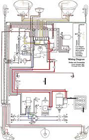 best ideas about electrical wiring diagram wiring diagram vw beetle sedan and convertible 1961 1965
