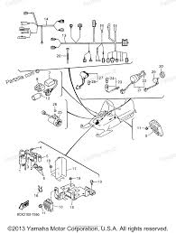 Yamaha snowmobile 1997 oem parts diagram for electrical 1