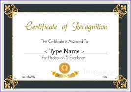 free recognition certificates free printable certificate of recognition agarvain org