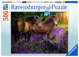 """<b>Пазл Ravensburger</b> """"<b>Лошади в</b> цветах"""" 500 шт арт.14813R ..."""
