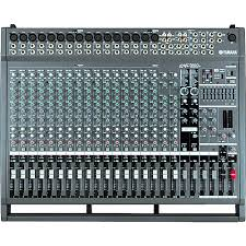 yamaha mixer. yamaha emx5000-20 20-channel powered mixer