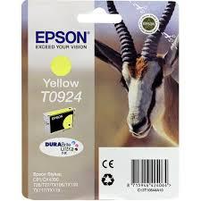 Оригинальный <b>картридж Epson</b> T0924 (желтый) Желтый (<b>Yellow</b> ...
