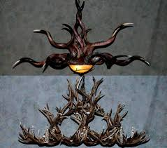 how to make antler chandeliers with a homemade chandelier designs