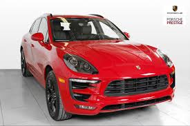 2018 porsche macan red. modren red 2018 porsche macan gts carmine red available at prestige montral  qubec to porsche macan red