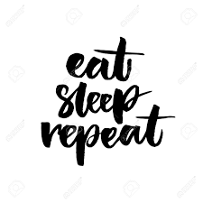 Image result for sleep and eat image