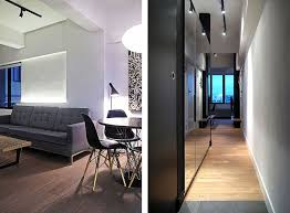 contemporary loft furniture. Contemporary Loft Living Room Design With White Wall Color And Grey Leather Sofa Also Laminated Wooden Floor Idea Furniture M