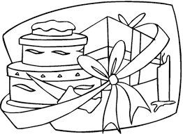 Small Picture Happy Birthday gift coloring page Free Printable Coloring Pages