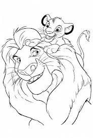 Papà E Figlio Disegni Da Colorare Gratis Il Re Leone Disegni Da