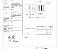 Wire Diameter Chart Mcm Popular 400 Terminals Mouser