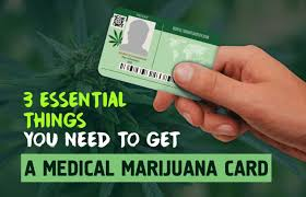 Things A Need To Essential Get You Card Medical 3 Marijuana