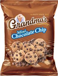 frito lay ss grandma s mini chocolate chip cookies