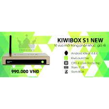 Android Tivi Kiwi Box S1 New - Hãng PP Chính Thức