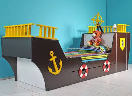 childrens pirate ship bed