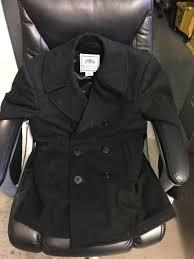 dscp quarterdeck collection genuine u s navy issue wool pea coat size 38r