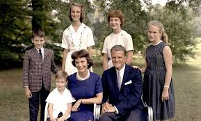 Image result for billy graham children at funeral images