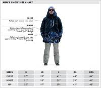 Gerry Mens Snow Pants Size Chart Size Chart For Snow Pants