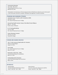 Resume Samples For Teachers Post New Job Resume Examples Awesome