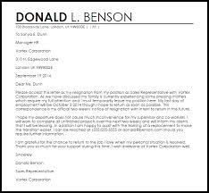 Letter Of Intent To Return To Work After Resignation Resignation Letter Example With Intent To Return Letter