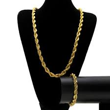 10mm wide singapore twist chain necklace bracelet set men yellow gold filled cool hip hop