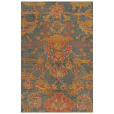 palace size antique oushak carpet turkish handmade oriental rug gray blue c for at 1stdibs