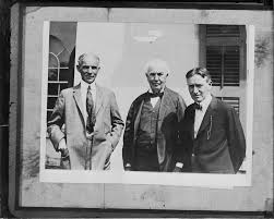 henry ford with thomas edison. Wonderful Ford Henry Ford  Thomas Edison Harvey Firestone Marion Ohio On With O