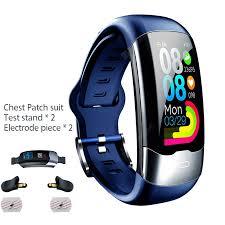 Smart Sports Bracelet ECG+PPG+HRV Heart Rate Blood Pressure ...